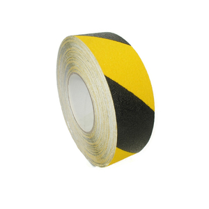 Antislip tape geel/zwart 50mm x 18m