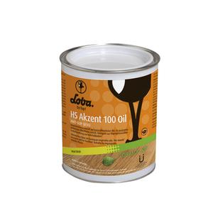Lobasol® HS Akzent 100 Oil Color - 0,75l - Silver