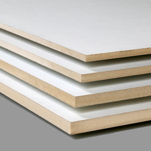 MDF GF02-05 Topkwaliteit MDF met lakdraagfolie Wit overlakbaar mat 2800x2070x22mm.