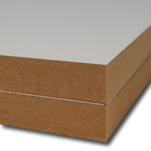 MDF gemelamineerd Econ 1002 Wit Softmat 3050x1220x18mm.