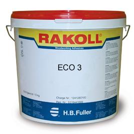 Rakoll ECO 3 3-duims - 1100kg - Houtlijm - Wit