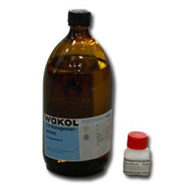 Wakol Halogeneermiddel 2K + harder - Transparant