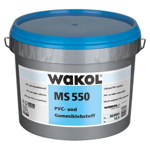 Wakol MS550 PVC- en Rubberlijm - 7,5 KG