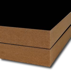 HDF Econ 2190 zwart parel 2-zijdig gelakt 2800x2070x5mm.