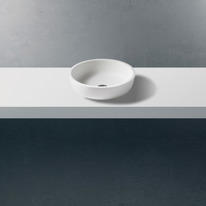 Betacryl Classic White 0-100 Opzetwastafel BB R 379 0-100mmxØ413x110mm.