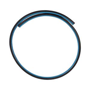 Luchtslang blauw/zwart 8 MM per meter
