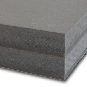 Unilin MDF door-en-door gekleurd Zwart Brandvertragend D720 3050x1220x18mm.