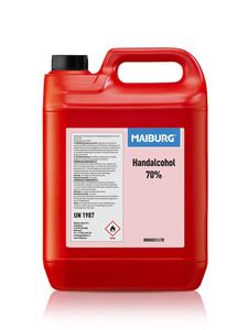 Maiburg Handalcohol 70% N-15097 - Kan van 5 Ltr.