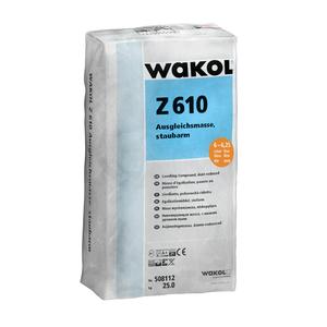 Wakol Z610 Egaliseermiddel stofarm - 25 KG