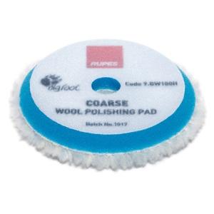 RUPES 9.BW100H/48 BLUE WOOL POLISHING PAD COARSE - Ø 80/90 mm  48 st