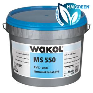 Wakol MS550 PVC- en Rubberlijm - Zeer emissiearm - 7,5 KG