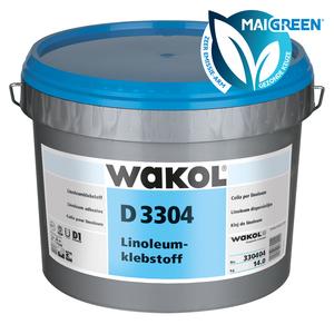 Wakol D3304 Linoleum dispersielijm - Zeer emissiearm - 14kg