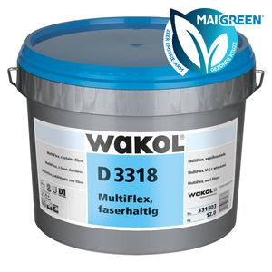 Wakol D3318 Multiflex vezelversterkt - Zeer emissiearm - 13kg