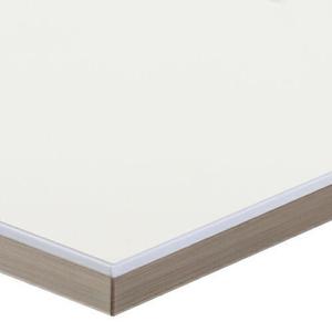 ABS kantenband - Alvic Luxe® Blanco HG Glasslook 25mx23x1mm.
