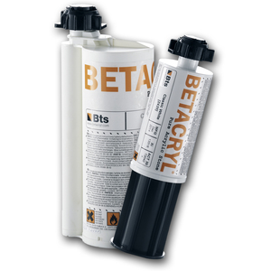 Betacryl Lijm Classic White 0-100 2K lijm op kleur 250ml