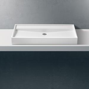 Betacryl Classic White 0-100 Opzetwastafel BB R 366 100mmxØ413x110MM.